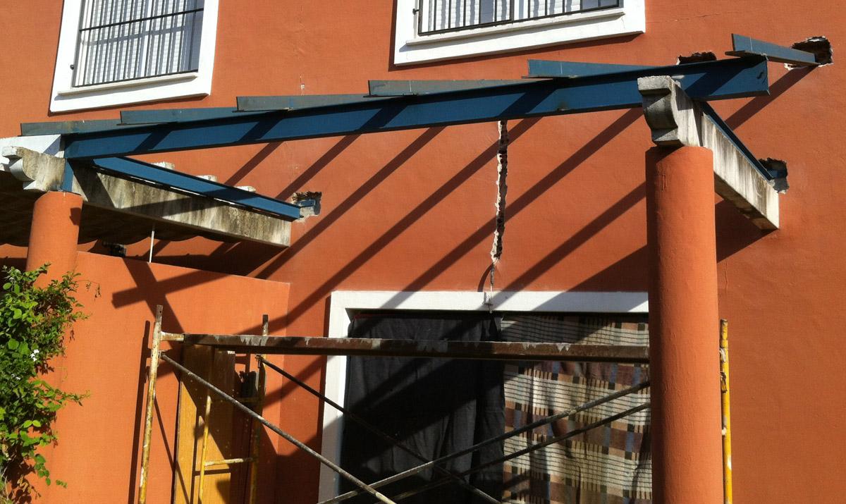 Estructuras para edificios carpinter a met lica tovar for Estructuras de hierro para casas